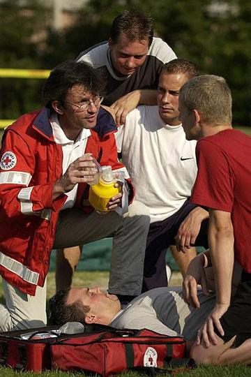 Erste Hilfe für Sportgruppen